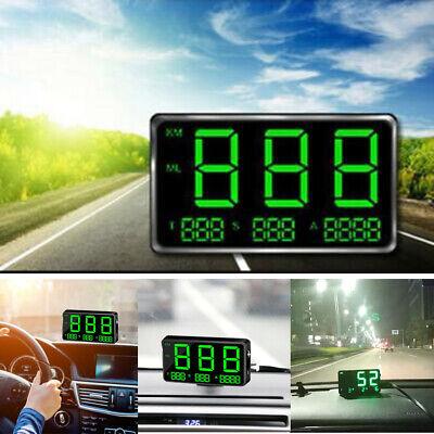 Universal Digital Car GPS Speedometer Speed Display KMh MPH For Bike Motorcycle