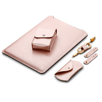 4pcs/Set Laptop Notebook Tasche Hülle Case Cover für MacBook Pro Air 13.3 Zoll ()