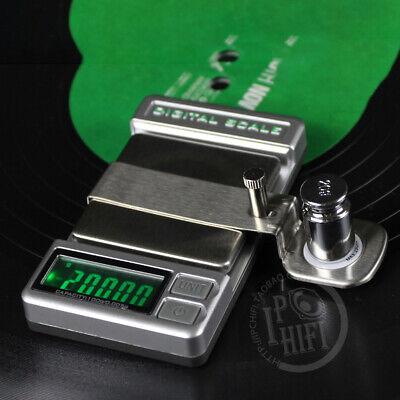 Precisión Digital Lápiz Óptico Aguja Manómetro Escala for Tocadiscos Registro