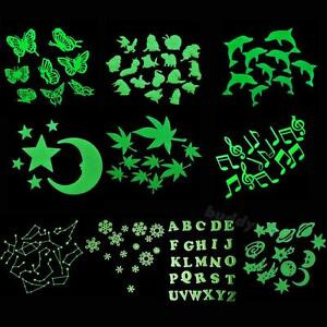 Home Wall Glow In The Dark Stickers Decals Baby Bedroom