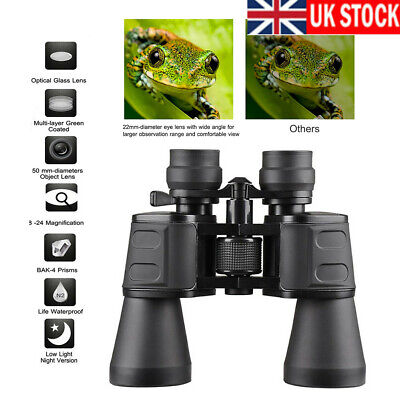 180x100 Zoom HD Lens Binoculars Day/Night Vision Outdoor Hunting Telescope+Case