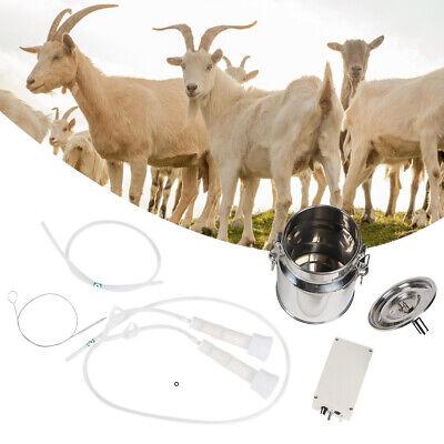 Electric Barrel Milking Machine Portable Vacuum Pump For Cow Goats Milker 5l