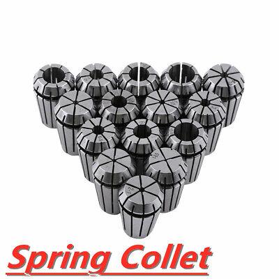 15pc Er20 Spring Collet Set 1-13mm Fr Spindle Cnc Milling Lathe Tool Workholding