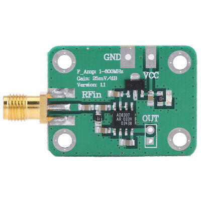 RF Signal Power Meter 1-600MHz Logarithmic Detector Radio Frequency Detection