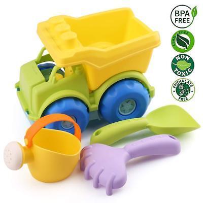 Christmas Beach Toys Shovel Dump Truck Sand Bath for Kids Toddler Baby Xmas Gift - Toys For Kids For Christmas
