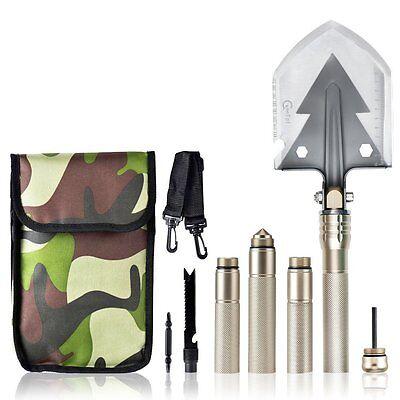 Multi-function Military Shovel Folding Camping Shovel Outdoor Survival Tool