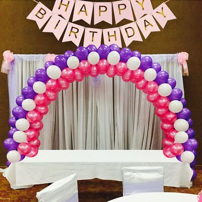 Balloon Arch DIY Party Kit with Frame Base Pole Ballon Clips Birthday Decor](Birthday Decoration With Balloons)