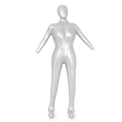 1x Full Body Female Inflatable Mannequin Woman Dummy Torso Clothes Display Model