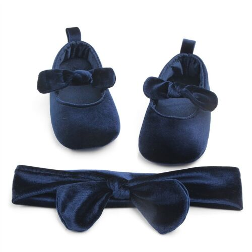 Newborn Baby Girl Soft Sole Cloth Crib Shoes Anti-slip Sneak