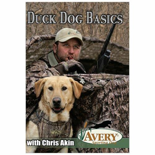 Avery Duck Dog Basics DVD Chris Akin Retriever Training Handling Vol. #1