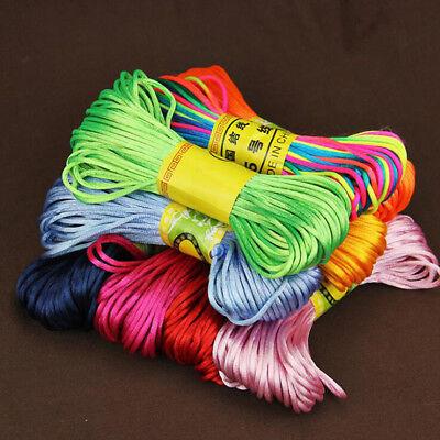 20M/Roll DIY Beading Jewelry Cord Wax Nylon String Findings Bracelet Thread Cord