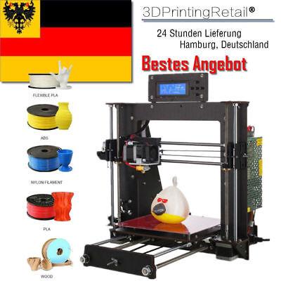 2019 Neue 3D Printer Prusa i3 PRO MK8 Extruder DIY Bausatz Printe 3D Drucker DHL