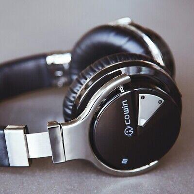 COWIN E7BT Wireless Bluetooth Headphones with Mic Deep Bass Headset