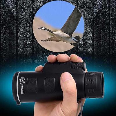 Night Vision 40 X 60 Dual Focus Optics Zoom Lens Hunting Monocular Telescope LP