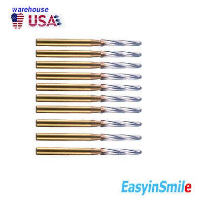 Dental Surgical Carbide Tungsten Bur Endo-z 1.423mm Cutter Easyinsmile 10pcs