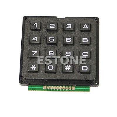 4x4 Matrix High Quality Keyboard Keypad Use Pic Key Avr Stamp Sml
