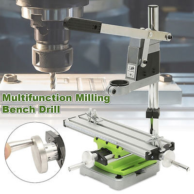 Multifunction Milling Machine Vise Fixture Adjustment Worktable Bench Drill New