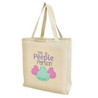 I'm A Peeple Person Peeps Grocery Travel Reusable Tote Bag