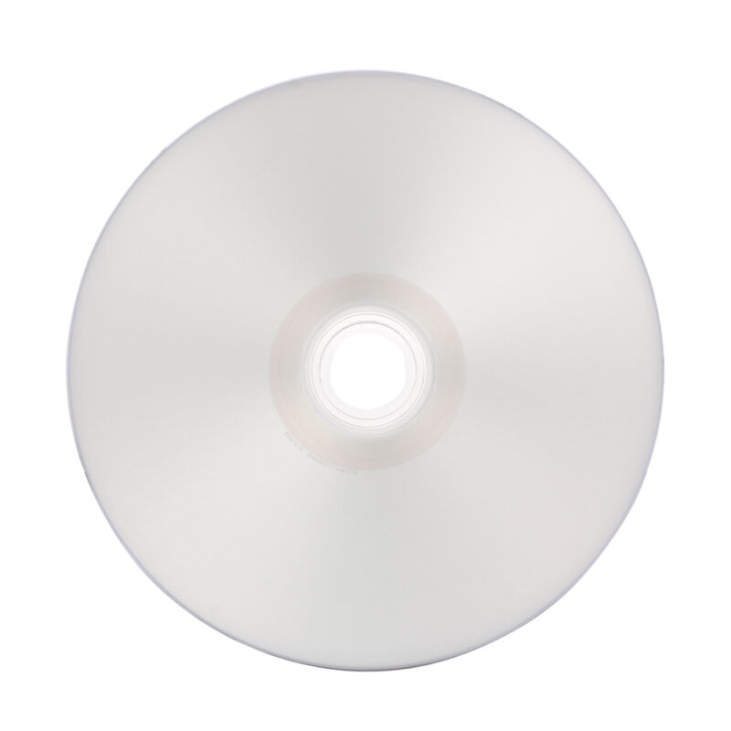 100 16x Silver Inkjet Hub Printable Dvd-r Dvdr Recordable Disc 4.7gb