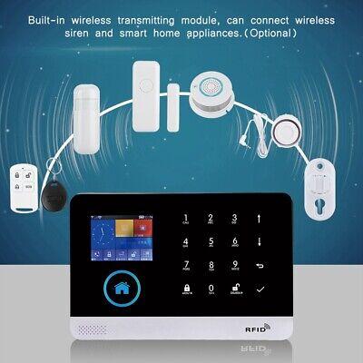 GSM GPRS WIFI PIR sistema de alarma de seguridad para hogar Sirena...