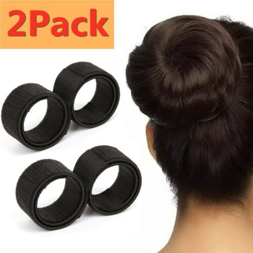 6 Packs Hair Styling Donut Former Foam French Twist Magic DI