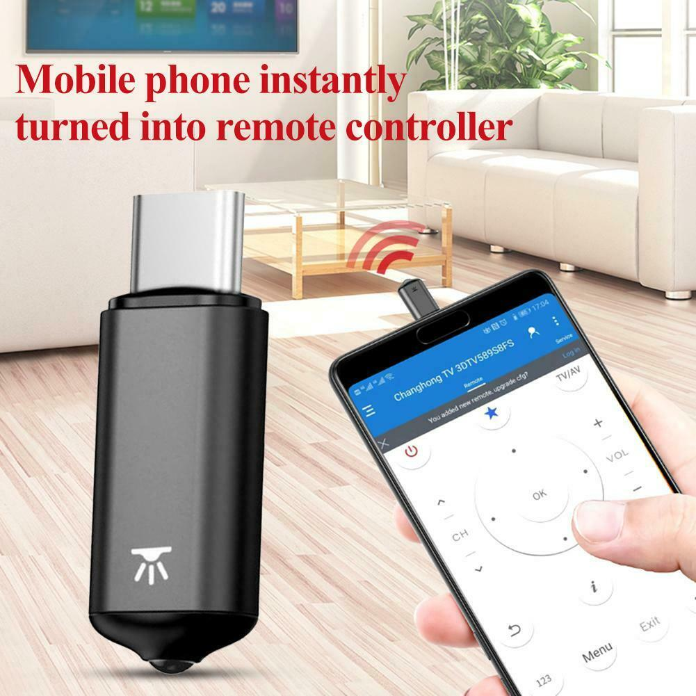 baseus-r02-universal-usb-type-c-smart-ir-infrared-wireless-remote-control-for-tv