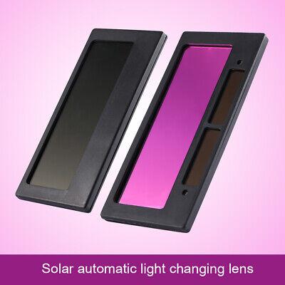 Solar Auto Darkening Welding Helmet Lens Goggles Filter Shade Goggles 4-14 X2