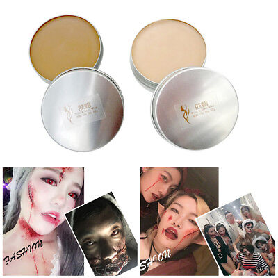 Halloween Fancy Dress Fake Scar Wound Skin Wax Body Face Painting Makeup lot EY