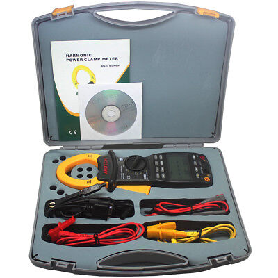 Mastech Ms2205 3 Phase Power Clamp Meter Harmonic Tester Rs232