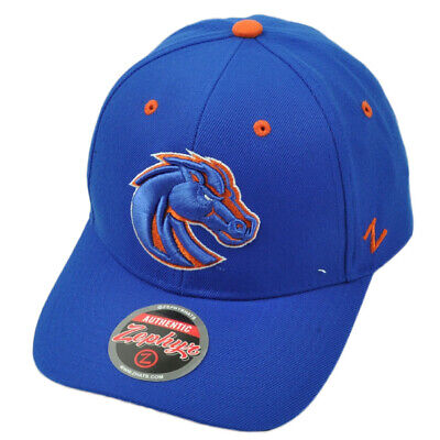 NCAA Zephyr Boise State Broncos Hat Cap Royal Blue Curved Bill Adjustable