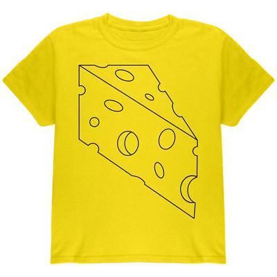 Halloween Swiss Cheese Food Costume Youth T Shirt