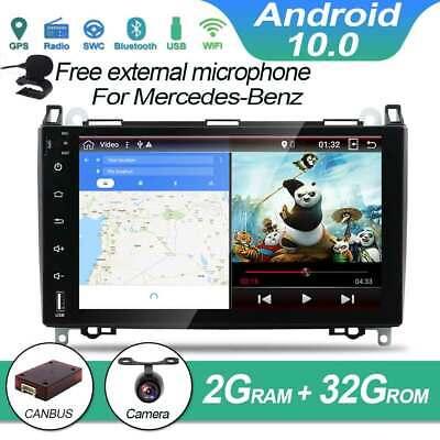 """9""""IPS Autoradio GPS Navi DAB+für Mercedes Benz W447 W639 W169 W245 Vito 3 Viano"""