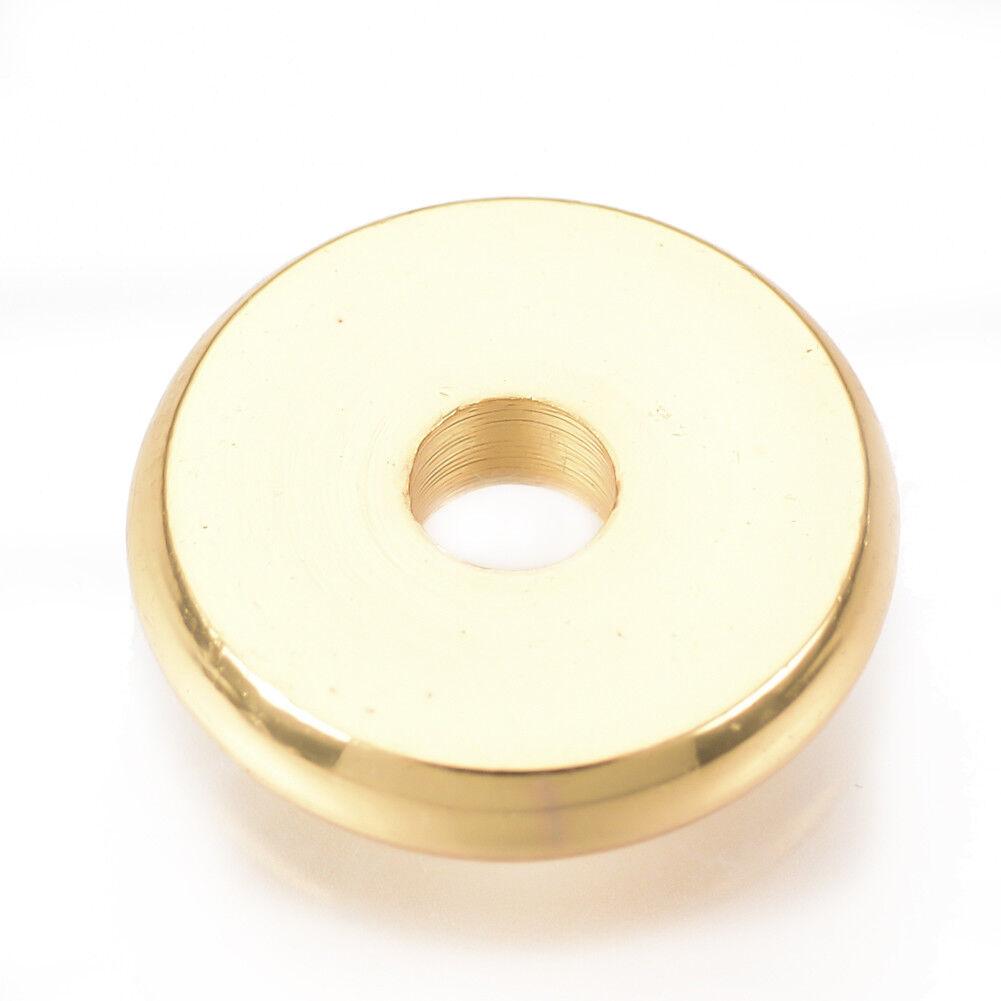 50pcs Brass Flat Disc Metal Beads Textured Heishi Tiny Loose Spacer Gold 6x0.5mm