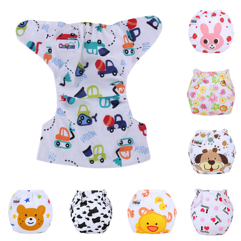 Baby Diaper Nappy Cloth Wrap For Infants Newborn Baby Reusab
