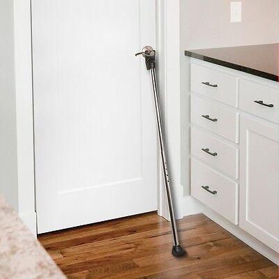 Deluxe Door Guard Home Security Bar Door Stop