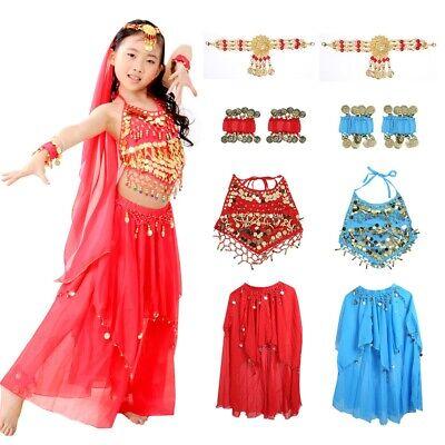 Arab Dance Girl (Children's Dress Arab Oriental Belly Dance Costume Professional Dresses Girl)