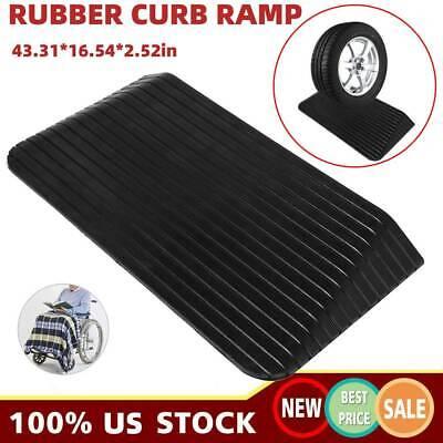 Rubber Curb Ramp Car Driveway Industrial Level Heavy Duty Garage Loading Dock