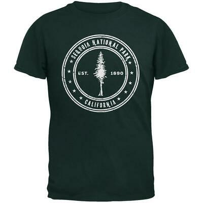 - Sequoia National Park Forest Green Adult T-Shirt