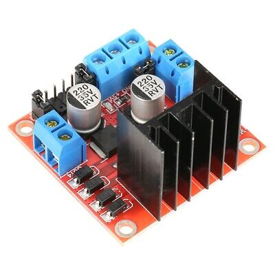 L298n Dc H Bridge Stepper Motor Driver Module Dual Channel Control Board
