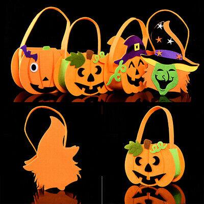 Halloween Kürbis Einkaufs Beutel Kinder Geschenk Süßigkeiten Handtasche Neu