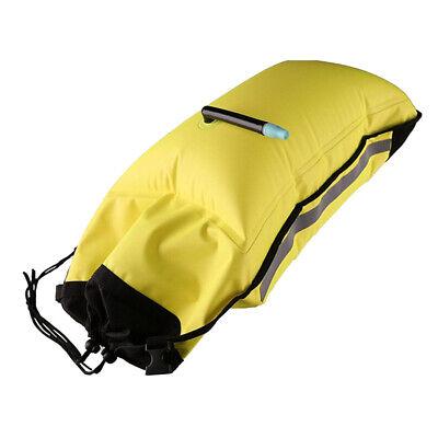 Flotante Paleta Bolsa Kayak Canoa Barco Inflable Doble Aire Self-Rescue Flotador