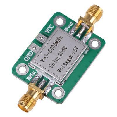 5-6000mhz Broadband 20 Db High Gain Lna Low Noise Rf Amplifier Module Ham