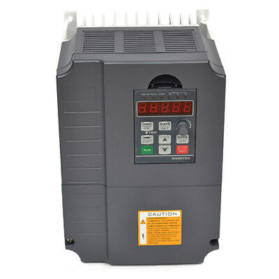 Updated 7.5kw 220v 10hp 34a Vfd Variable Frequency Drive Inverter Top Quality