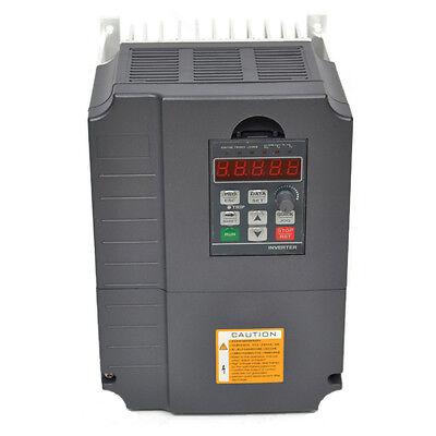 Neu 7.5KW VFD 220V 10HP Frequenzumrichter Variable Frequency Drive Inverter