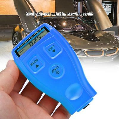 Gm200gm200a Digital Car Paint Coating Thickness Probe Tester Gauge Meter Blue