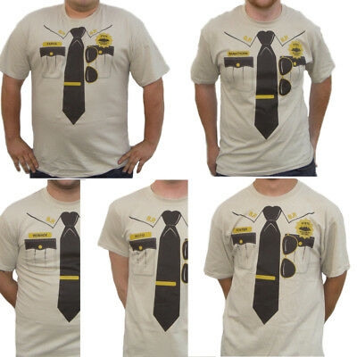 Supertroopers T-Shirt Choose Super Troopers Farva Mac Costume Movie 1 2 Highway