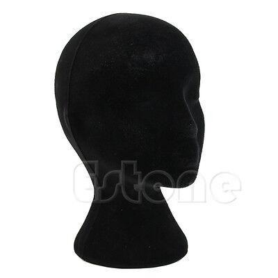 Styrofoam Foam Female Manikin Mannequin Head Model Wigs Glasses Display Stand