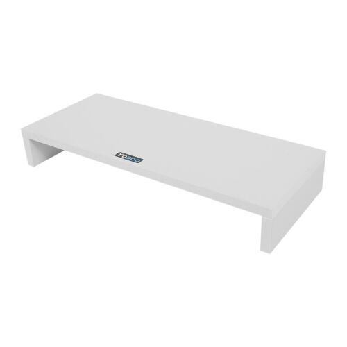 holz pc monitorerh hung bildschirm erh hung monitorst nder halterung 3 farben zz ebay. Black Bedroom Furniture Sets. Home Design Ideas