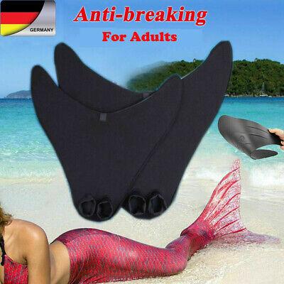 Erwachsene Mädchen Meerjungfrau Schwanzflosse Monoflosse Für Mermaid Badeanzug