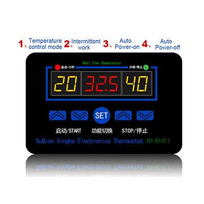 12220v Digital Thermostat Temperature Controller Meter Regulator Xh-w1411 Healt